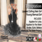 SOLARIS Apply Me! JULY (CherishedCreations) Temptation (Black)