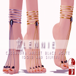 SOLARIS Apply Me! JULY (LENNIE) Cassandra Anklet
