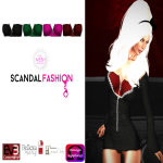 SOLARIS Apply Me! JULY (Scandal Fashions)