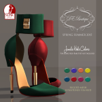 DE.Boutique SS15 Jamila Heels Colors