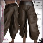 _PC_ Linen pants Brown adpic