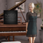 SOLARIS -Sneak Peek- AUGUST _MSS_ Paisley Lace Dress Poster