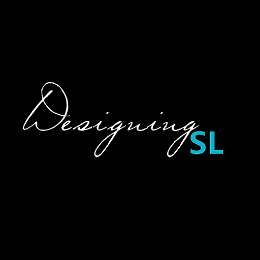 The DesigningSL Logo Black