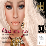 Alexa Mesh Head Vendor Cream